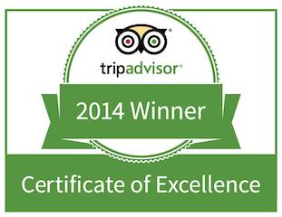 awarded to businesses that rank in the top 10% of worldwide traveler feedback